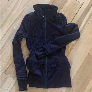 Lululemon deep purple full zip jacket
